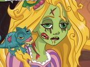 Play Rapunzel Zombie Curse Game