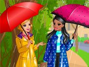 Play Retro Rain Game
