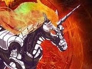 Play Robot Unicorn Attack Heavy Metal Game