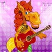Play Rock Star Horse Game