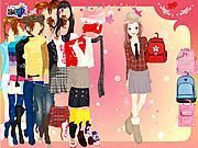 School Bag Dressup