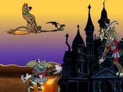 Play Scooby doo Halloween Fly Game
