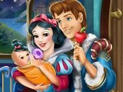 Play Snow White Baby Feeding Game