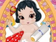 Play Snow White Baby Shower Game