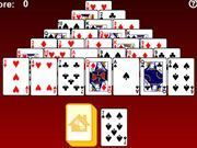 Play Solitary Pyramid of Gold Game