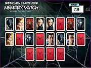 Play Spider man 3 Memory Match Game