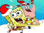 Play Spongebob Snow Adventure Game