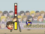Play Sports Heads Volleyball Game