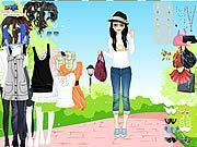 Play Spring Park Dress Up Game