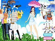 Play Spring Rain Dress up Game