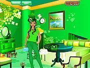 Play St. Patricks Day Room Decor Game