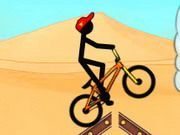 Play Stickman Freestyle Bmx Game