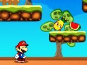 Play Super Mario Fruits Game