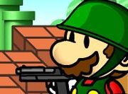 Play Super Mario vs Zombie Defense Game