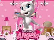 Play Talking Angela Room Decor Game