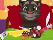 Play Talking Tom sole surgery Game