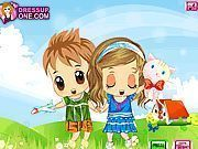 Play Twin Baby Boy And Girl Game