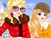 Play Winter Besties Dressup Game