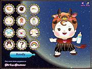 Play Zodiac Baby Dress up Game