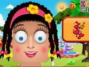 Play Zoe Face Painting Game